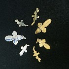 Silver & Gold Orthodox Crosses